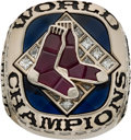 Baseball Collectibles:Others, 2007 Boston Red Sox World Series Championship Ring....