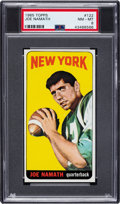 Football Cards:Singles (1960-1969), 1965 Topps Joe Namath #122 PSA NM-MT 8....