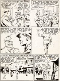 Al McWilliams Airboy Comics V3#9 Story Page 2 Original Art (Hillman, 1946)