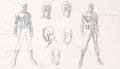 Original Comic Art:Illustrations, Jim Cheung Young Avengers Patriot Character Concept Original Art (Marvel, 2004). ...