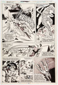 Original Comic Art:Panel Pages, Gene Colan and Bob Wiacek What If? #21 Story Page 19 Sub-Mariner Invisible Girl Original Art (Marvel Comics, 1971)...