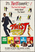 """Movie Posters:Rock and Roll, Twist Around the Clock & Other Lot (Columbia, 1961). Folded,Fine/Very Fine. Trimmed One Sheet (Approx. 26.75"""" X 40.7..."""