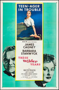 """Movie Posters:Drama, These Wilder Years & Other Lot (MGM, 1956). Folded, Very Fine.One Sheets (3) (27"""" X 41""""). Drama.. ... (Total: 3 It..."""