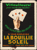 "Movie Posters:Miscellaneous, La Bouillie Soleil (Établissements Edmond, 1930s). Rolled, Fine-.French Advertising Moyenne (23.75"" X 31.5""). Miscellaneous..."