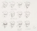 Original Comic Art:Sketches, Jim Cheung Young Avengers Cassie Lang Character Concept Original Art (Marvel, 2005)...