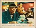 "Movie Posters:Hitchcock, The Wrong Man (Warner Brothers, 1957). Fine+. Lobby Card (11"" X14""). Hitchcock.. ..."