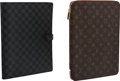"""Luxury Accessories:Accessories, Louis Vuitton Set of Two: Notebook Covers. Condition: 1. 10"""" Width x 13"""" Height x 1"""" Depth. ... (Total: 2 )"""