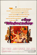 """Movie Posters:Comedy, Any Wednesday & Other Lot (Warner Brothers, 1966). Folded, VeryFine-. One Sheets (3) (27"""" X 41""""). Robert McGinnis Artwork. ...(Total: 3 Items)"""
