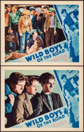 "Movie Posters:Drama, Wild Boys of the Road (First National, 1933). Very Fine. Lobby Cards (2) (11"" X 14""). Drama.. ... (Total: 2 Items)"