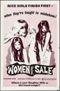 """Movie Posters:Sexploitation, Women for Sale & Other Lot (Independent International Pictures, 1975). Folded, Very Fine-. One Sheets (2) (27"""" X 41""""). Neal ... (Total: 2 Items)"""