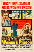 """Movie Posters:Bad Girl, Women's Prison (Columbia, 1955). Folded, Very Fine-. One Sheet (27"""" X 41""""). Bad Girl.. ..."""