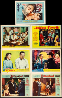 "Istanbul & Other Lot (Universal International, 1957). Very Fine. Lobby Cards (7) (11"" X 14""). Adventur..."