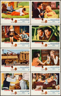 Movie Posters:Drama, The Carpetbaggers & Other Lot (Paramount, 1964). Very Fine-.Lobby Card Sets of 8 (2 Sets), Title Lobby Cards (2), & LobbyC... (Total: 21 Items)