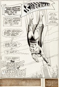 Original Comic Art:Splash Pages, Curt Swan and Murphy Anderson Superman #244 Splash Page 1 Original Art (DC, 1971)....