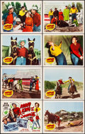 Movie Posters:Western, Rodeo King and the Senorita & Other Lot (Republic, 1951). Very Fine. Lobby Card Sets of 8 (2 Sets), Title Card, & Lobby Card... (Total: 23 Items)