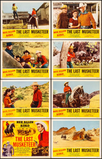 """The Last Musketeer & Other Lot (Republic, 1952). Very Fine. Lobby Card Sets of 8 (3 Sets) (11"""" X 14"""")..."""
