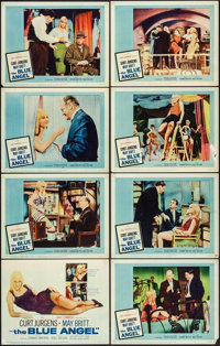 "The Blue Angel & Other Lot (20th Century Fox, 1959). Fine/Very Fine. Lobby Card Sets of 8 (3 Sets) (11"" X 1..."
