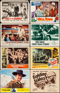 The Alamo & Other Lot (United Artists, R-1967). Overall: Fine/Very Fine. Lobby Cards (13), Title Cards (2) (11&q...