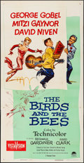 "Movie Posters:Comedy, The Birds and the Bees (Paramount, 1956). Folded, Very Fine-. ThreeSheet (41"" X 80""). Comedy.. ..."