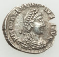Ancients:Roman Imperial, Valentinian III, Western Roman Empire. (AD 425-455). AR ha...