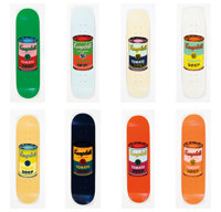 The Andy Warhol Foundation for the Visual Arts X The Skateroom Campbell's Tomato Soup, set of eight, 20... (Total: 8)