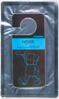 Collectible:Contemporary, KAWS X Original Fake X retaW. Fragrance Room Tag Evelyn, c. 2010. Scented card. 7-7/8 x 3-1/2 inches (20 x 8.9 cm). Prod...