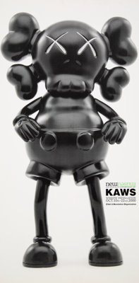 KAWS X New Museum Kaws Window Installation, exhibition poster, 2000 Offset lithograph in colors on paper 17 x 8-1/2 i