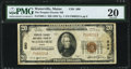 National Bank Notes:Maine, Waterville, ME - $20 1929 Ty. 1 The Peoples-Ticonic NB Ch. # 880 PMG Very Fine 20.. ...