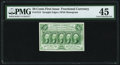 Fractional Currency:First Issue, Fr. 1312 50¢ First Issue PMG Choice Extremely Fine 45.. ...
