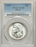 1937 50C Boone MS65 PCGS. PCGS Population: (845/584). NGC Census: (605/322). CDN: $150 Whsle. Bid for problem-free NGC/P...
