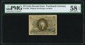 Fractional Currency:Second Issue, Fr. 1283 25¢ Second Issue PMG Choice About Unc 58 EPQ.. ...