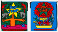 Collectible:Print, After Keith Haring . Pop Up Shop Shopping Bags, (two works), 1988. Plastic double string shopping bags. 19 x 17 inches (...