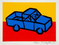Prints & Multiples:Print, Tom Slaughter (1955-2014). Recession Print I, set of four, 1990. Screenprints in colors on wove paper. 13 x 17 inches (3... (Total: 4 Items)