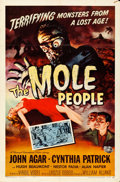 Movie Posters:Science Fiction, The Mole People (Universal International, 1956). Folded, F...