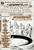 Original Comic Art:Covers, Murphy Anderson Strange Adventures #229 Cover Original Art (DC, 1971)....