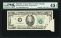 Error Notes:Foldovers, Butterfly Fold Error Fr. 2075-G $20 1985 Federal Reserve Note. PMG Choice Extremely Fine 45 EPQ.. ...