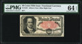 Fractional Currency:Fifth Issue, Fr. 1381 50¢ Fifth Issue PMG Choice Uncirculated 64 EPQ.