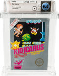 Video Games:Nintendo, Kid Icarus (NES, Nintendo, 1987) Wata 8.0 A (Seal Rating) Variant:Rev-A Round SOQ....
