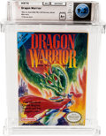 Video Games:Nintendo, Dragon Warrior (NES, Nintendo 1989) Wata 9.2 A+ (Seal Rating)....