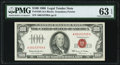 Small Size:Legal Tender Notes, Fr. 1550 $100 1966 Legal Tender Note. PMG Choice Uncirculated 63 EPQ.. ...