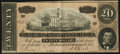 Confederate Notes:1864 Issues, T67 $20 1864 PF-3 Cr. 505 Very Fine.. ...