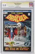 Bronze Age (1970-1979):Horror, Tomb of Dracula CGC Signature Series Group (Marvel, 1972-73)....(Total: 3)