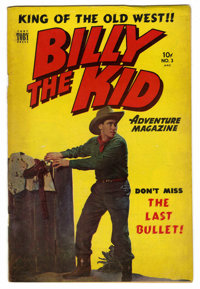 "Billy the Kid Adventure Magazine #3 Davis Crippen (""D"" Copy) pedigree (Toby Publishing, 1951) Condition: FN..."