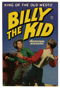 "Billy the Kid Adventure Magazine #1 Davis Crippen (""D"" Copy) pedigree (Toby Publishing, 1950) Condition: VF-..."