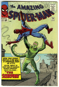 The Amazing Spider-Man #20 (Marvel, 1965) Condition: FN