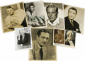 "Movie/TV Memorabilia:Autographs and Signed Items, Early Character Actors Signed Photos. Set of eight signed photosranging in size from 3.5"" x 5.5"" to 8"" x 10"", including Alb..."