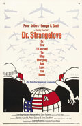 "Movie Posters:Comedy, Dr. Strangelove or: How I Learned to Stop Worrying and Love theBomb (Columbia, 1964). One Sheet (27"" X 41""). One of Stanley..."