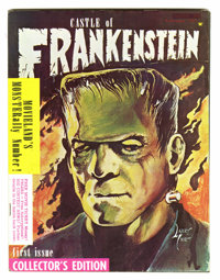 Castle of Frankenstein #1 (Gothic Castle Printing, 1962) Condition: VG