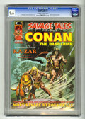 Magazines:Miscellaneous, Savage Tales #5 (Marvel, 1974) CGC NM+ 9.6 Off-white to white pages. Conan, Brak the Barbarian, and Ka-Zar are featured. Nea...