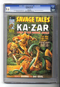 Magazines:Superhero, Savage Tales #8 (Marvel, 1975) CGC NM+ 9.6 White pages. ...